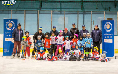 Přijďte v pondělí 20. září v 17:00 na zimák v Blansku na akci Týden hokeje  :)